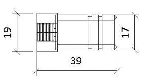 diseño adaptador termometro manometro